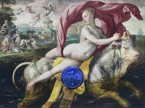 Gazing Ball (de Vos Rape of Europa)