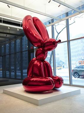 Balloon Rabbit (Red)