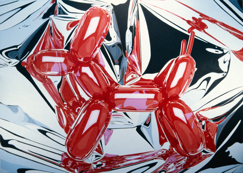 jeff koons artwork