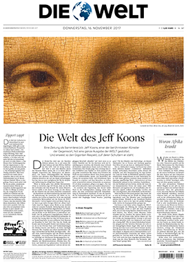 Die Welt: Eighth Special Art Edition Supplement
