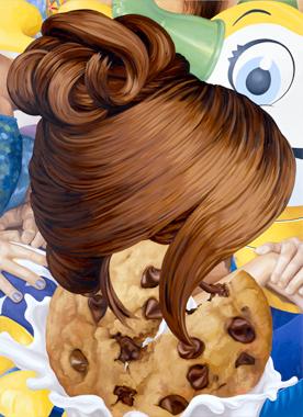 Jeff Koons Artwork Hair