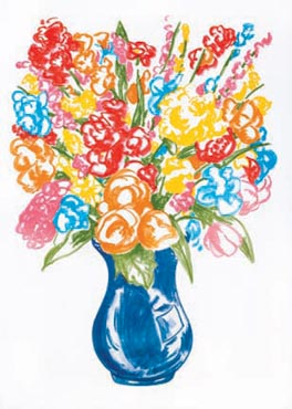Untitled (Vase of Flowers)