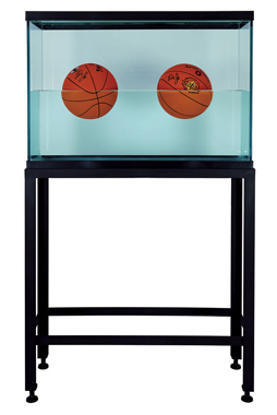 Two Ball 50/50 Tank (Spalding Dr. J Silver Series, Spalding Dr. J 241 Series), 1985
