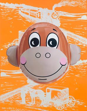 Monkey Train (Orange)