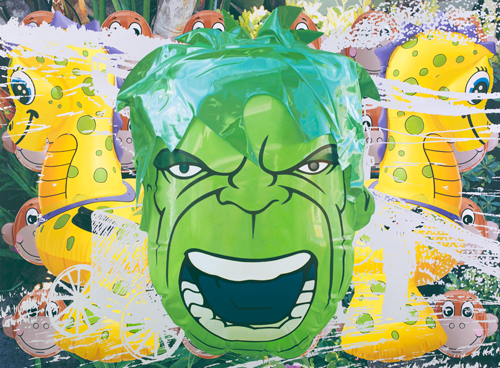 Jeff Koons - Artwork: Hulk Jungle