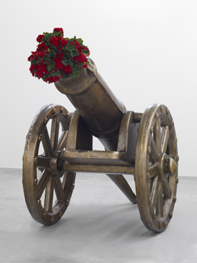 jeff koons artwork toy cannon