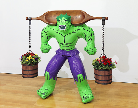 Jeff Koons - Artwork: Hulk (Yoke)