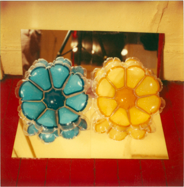Inflatable Flowers (Short Blue, Short Yellow)