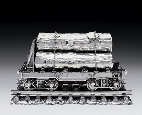 Jim Beam - Log Car