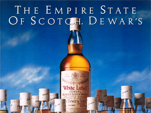 The Empire State of Scotch, Dewar's