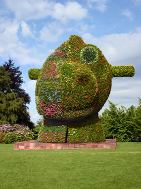 Jeff Koons, Fondation Beyeler, Basel, Switzerland, 2012.
