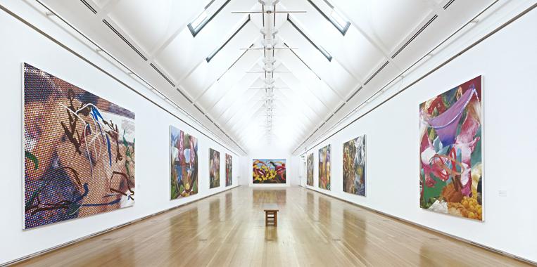Jeff Koons: The Painter, Schirn Kunsthalle Frankfurt, 2012.