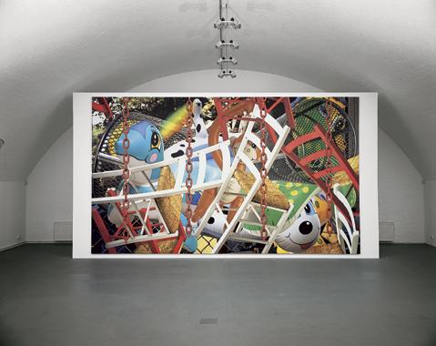 Jeff Koons. Backyard, Galerie Max Hetzler, Berlin, 2004.