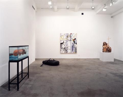 Jeff Koons / Roy Lichtenstein. The Eli Broad Family Foundation, Santa Monica, 1995.