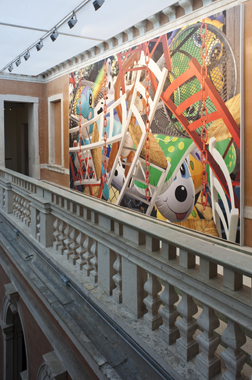 Backyard by Jeff Koons. Mapping the Studio: Artists from the François Pinault Collection, Punta Della Dogana & Palazzo Grassi, 2009-2011