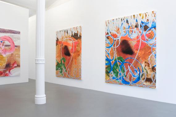 Jeff Koons, Galerie Max Hetzler, Berlin, 2008.
