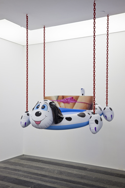 Dogpool (Panties) by Jeff Koons. Sexuality and Transcendence, Pinchuk Art Centre, 2010.