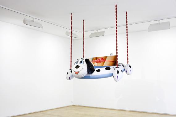 Jeff Koons: Popeye Sculpture, Galerie de Noirmont, Paris, 2010.