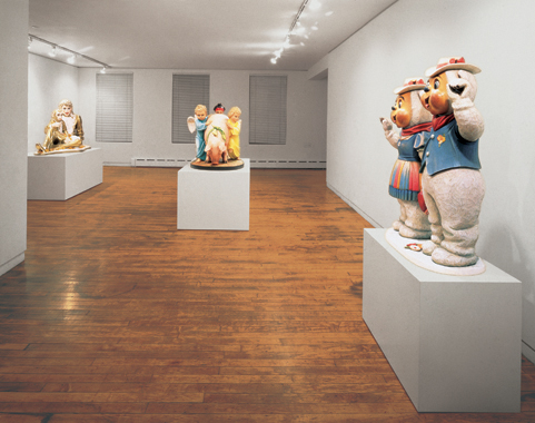 Jeff Koons. Banality, Sonnabend Gallery, New York, 1988.