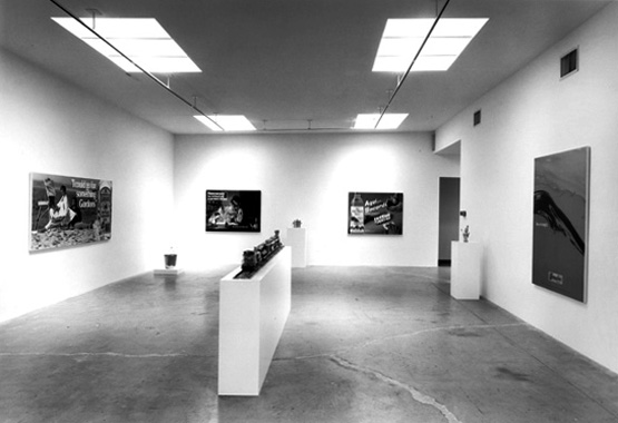 Jeff Koons. Luxury and Degradation, Daniel Weinberg Gallery, Los Angeles, 1986.