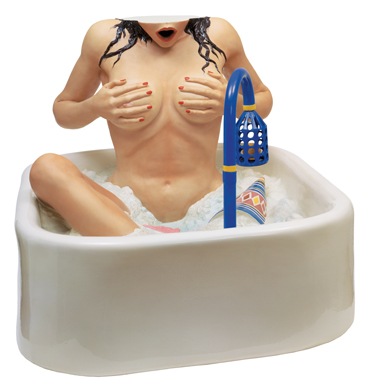 Jeff Koons - Artwork: Woman in Tub