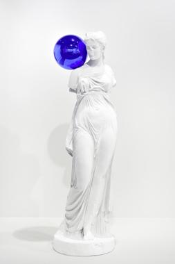 Gazing Ball (Standing Woman)