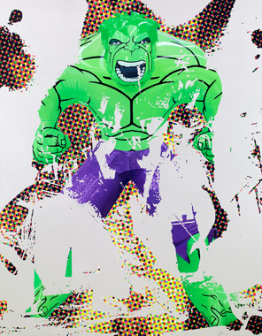 Jeff Koons - Artwork: Hulk Elvis I