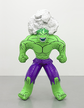 Jeff Koons - Artwork: Hulk (Rock)