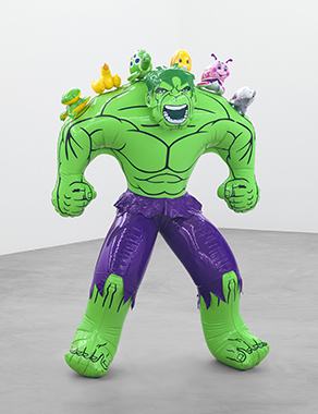 Jeff Koons - Artwork: Hulk (Friends)