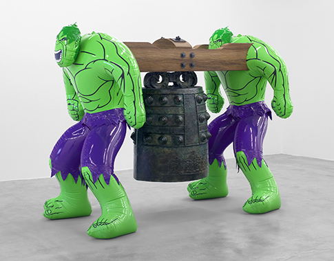 Jeff Koons - Artwork: Hulks (Bell)