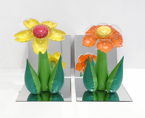 Inflatable Flowers (Tall Yellow, Tall Orange)