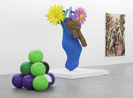 Jeff Koons, Almine Rech Gallery, Brussels, 2012.
