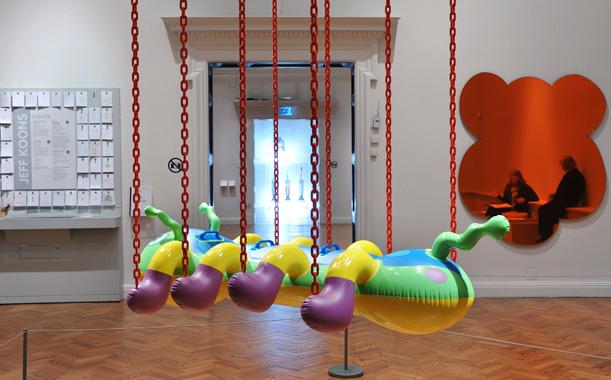 ARTIST ROOMS: Jeff Koons, Staatsgalerie Stuttgart, Brighton Museum and Gallery, 2013.