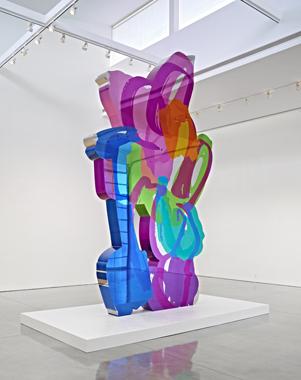 Jeff Koons, Gagosian Gallery, Beverly Hills, 2012.