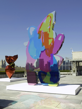 Jeff Koons: On the Roof, Metropolitan Museum of Art, New York, 2008.