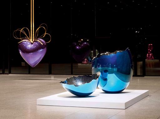 Jeff Koons: Celebration, Neue Nationalgalerie, Berlin, 2008-2009.