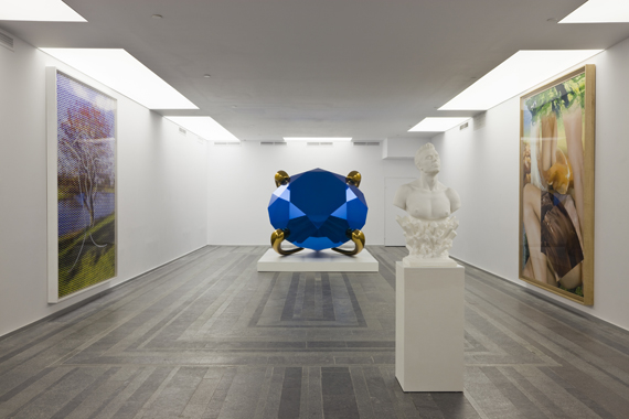 Diamond (Blue) by Jeff Koons. Sexuality and Transcendence, Pinchuk Art Centre, 2010