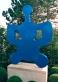 Elephant (Blue)