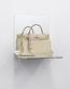 Kelly Bag Ivory (Shelf) - Bag donated by Marie-Josée Kravis