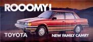 New Rooomy Toyota Family Camry