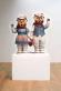 Winter Bears by Jeff Koons. Childish Things, The Fruitmarket Gallery, Scotland, 2010-2011.