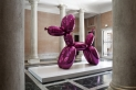 Balloon Dog (Magenta) by Jeff Koons. The World Belongs to You, Palazzo Grassi, 2011.